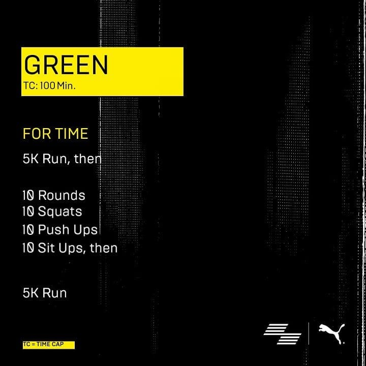 Workout green